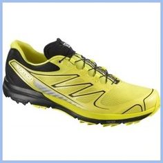 Daily Recommend - Salomon Mens Sense Pro Canary Yellow-Black-Black Size 8.5