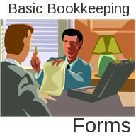 Basic Bookkeeping Forms. Quickbooks and Excel Bookkeeping and Accounting Templates.