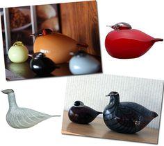 Oiva Toikan linnut: http://blogit.huuto.net/huutonetinhelmet/oiva-toikan-linnut/