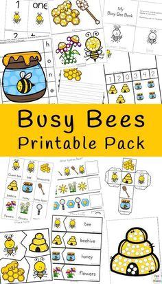 Bees For Kids, Bee Crafts For Kids, Insect Activities, Kindergarten Activities, Childcare Activities, Bee Games, Bee Book, Bumble Bees, Bumble Bee Crafts
