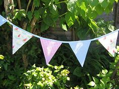 Cath Kidston bunting Nautical Bunting, Bunting Banner, Cath Kidston Bunting, Bold Colors, Colours, Cornwall, Nursery Ideas, Wall Stickers, Shower Ideas