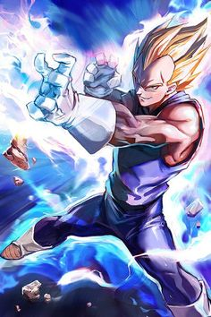 Vegeta my favorite DBZ character he is a cool saiyan but always gets beat up and mostly loses his fight