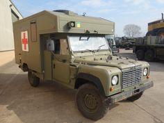 Land Rover 130 Defender Wolf RHD Ambulance ExMoD