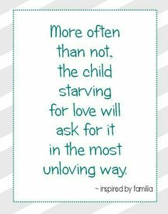let the little children come... do not forbid them... love unconditionally - it does a heart good! ;)