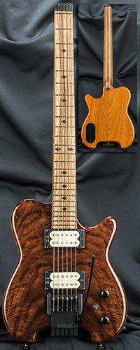 Kiesel Guitars HH2X Allan Holdsworth Signature Headless Guitar w/ XSTrem Serial Number 133902