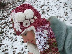 kreativní dámský SET ornament / Zboží prodejce S Leny design Crochet Hats, Facebook, Design, Art, Knitting Hats, Art Background, Kunst, Performing Arts