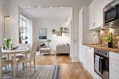 Distribuciones atrevidas en el diseño nórdico | Decorar tu casa es facilisimo.com