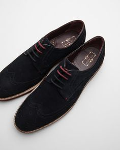 SHOP AW16: If laidback luxe is your aim, the ARCHERR brogues certainly hit the mark. With their dapper detailing and versatile shape, these suede shoes are ideal for dressing up your downtime look.