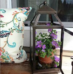 Spring is in the air so brighten up your front porch for the spring season. From planers to wreaths, there is plenty of inspiration for spring porch ideas. Front Porch Furniture, Outdoor Projects, Outdoor Decor, Outdoor Living, Outdoor Spaces, Diy Projects, Decks And Porches, Front Porches, Front Porch Plants