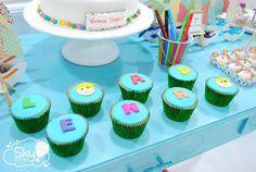 Minha mãe festeira: Festa Aquarela - Inspiração