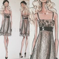 Dress design for Lauren by Ralph Lauren Holiday 2008 by Renaldo Barnette