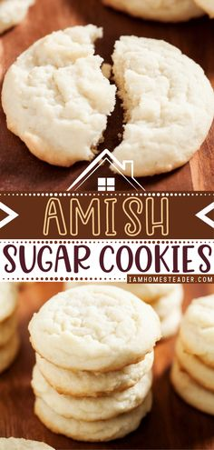 Looking for the perfect Valentine's day cookie? Try these Amish Sugar Cookies! This modern adaptation of the classic recipe produces the softest, no-fuss sugar cookies that will ever come out of your oven. Perfect as a gift for your special someone this Valentine's day!