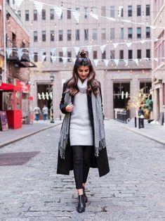 Maryam Ishtiaq-Shah│theory Overcoat Looks - WEAR Duster Coat, Instagram Posts, Jackets, How To Wear, Simple, Fashion, Moda, Fasion, Fashion Illustrations