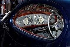 1937 Talbot Lago T150-C-SS - blue silver - int