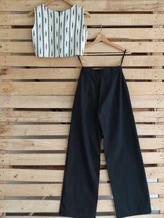 Cotton Pants, Linen Pants, Monsoon Fashion, Black Palazzo Pants, Wardrobe Design, Jean Top, Fashion Sewing, Separates, Jaipur