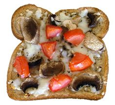 Pizza Toast  - Oh, the possibilities!