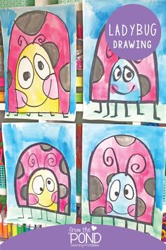 Drawing Projects, Drawing Lessons, Art Projects, Drawing Ideas, Drawing For Kids, Art For Kids, First Grade Art, Grade 1 Art, Kindergarten Art Lessons