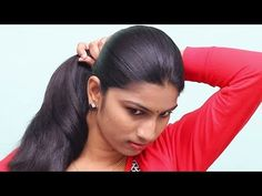 awesome at Hairstyles For Girls Self from gallery Modern Hairstyles For Girls Self For Your Creative Hairstyles Inpirations Open Hairstyles, Bun Hairstyles For Long Hair, Creative Hairstyles, Indian Hairstyles, Long Silky Hair, Long Black Hair, Beautiful Hairstyle For Girl, Beautiful Hairstyles, Black Hair Video