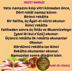 Hacet namazı Islamic Teachings, Allah Islam, Aspirin, Ftm, Instagram, Allah
