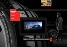 Inter pneus Quimper nouveau site web  www.interpneus-quimper.com