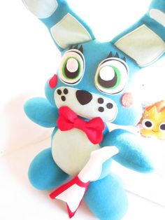 Toy Bonnie Plush Inspired by Five Nights at by FabroCreations