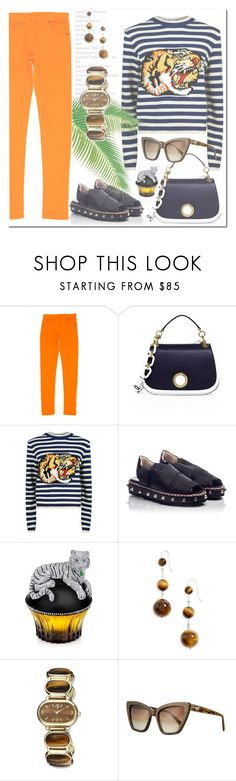 """Без названия #2611"" by ilona-828 ❤ liked on Polyvore featuring Maison Margiela, Michael Kors, Gucci, Attilio Giusti Leombruni, House of Sillage, Sophie Buhai, Charles Hubert, Prism and polyvoreeditorial"