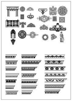 architecture decoration drawing decorative elements architecture