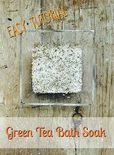homemade bath salts Make green tea bath soak for your sore muscles #homemadebathsalts #bathsaltrecipe #easybathsaltrecipe  #essentialoilbathsalts #epsomsaltsbathsoak #detoxbathsalts #lavenderbathsalts #diybathsalts #bathsaltgifts #scentedbathsalts #greenteabathsalts #herbalbathsalts