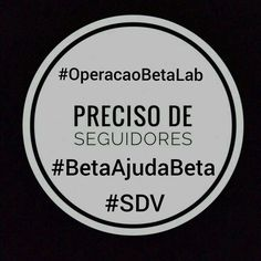 #OperacaoBetaLab #BetaAjudaBeta #SDV