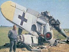 Bf 109 total loss.