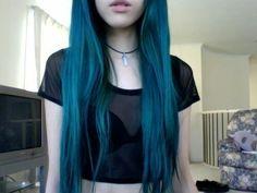 Teal blue green color