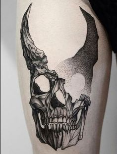 Our Website is the greatest collection of tattoos designs and artists. Find Inspirations for your next Skull Tattoo. Search for more Tattoos. Hanya Tattoo, Et Tattoo, Dark Tattoo, Skull Tattoos, Black Tattoos, Body Art Tattoos, Sleeve Tattoos, Tatoos, Tattoo Sketches