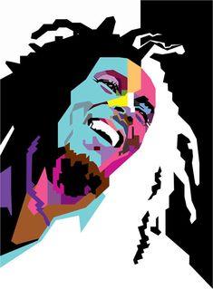 Marley in WPAP by wedhahai.deviantart.com on @deviantART