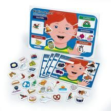 Excellerations® My 5 Senses Magnet Activity Set    Linking version - See Amy center game