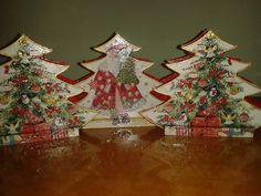 ΧΑΡΤΟΠΕΤΣΕΤΟΘΗΚΗ!!!!!!! Christmas Tree, Holiday Decor, Home Decor, Teal Christmas Tree, Decoration Home, Room Decor, Xmas Trees, Christmas Trees, Home Interior Design