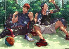 Friendship // Aomine daiki and Kagami taiga