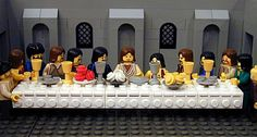 Lego the last supper