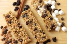 No bake, chewy Granola Bars (just like Quaker!) By Emily on Back to the Cutting Board.  http://backtothecuttingboard.com/dessert/no-bake-chewy-granola-bars/