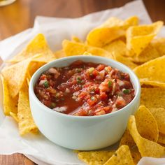 Our Test Kitchen experts share the secrets behind restaurant-style salsa.