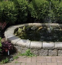 Home Hardware - A beautifully simple in-ground water garden http://www.homehardware.ca/en/index/home-projects/project-ideas/home-at-home/summer-projects/a-beautifully-simple-in-ground-water-garden.htm  #weekendproject #watergarden