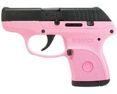 Special Edition Pink Ruger LCP .380 - it has pink in it.  Also to have to defend myself of course lol