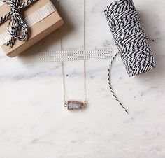 druzy! sparkly white opal and lavender druzy necklace by ALEXplusMAE on Etsy https://www.etsy.com/listing/223903483/druzy-sparkly-white-opal-and-lavender