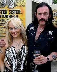Doro Pesch and Lemmy Kilmister-Love Doro,. she is amazing!