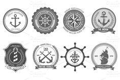 Nautical Badge & Logo $5