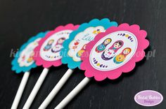 Kids&Babies: Party Printables :: Matrioskas
