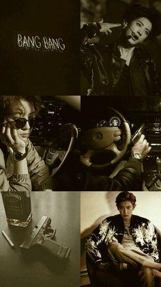 Aesthetic Lockscreens, Aesthetic Backgrounds, Aesthetic Wallpapers, K Wallpaper, Colorful Wallpaper, Park Chanyeol Exo, Baekhyun, Chanbaek, Exo Lockscreen