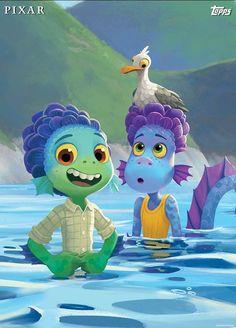New Pixar Movies, Disney Movies, Disney Plus, Disney Art, Animation Film, Disney Animation, Foto Cartoon, Aquarium Pictures, Lucas Movie