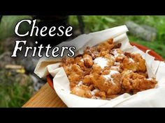 18th century fried cheese curds.