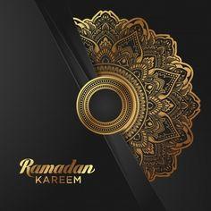 Pancarta de oro ramadan kareem banner so. Eid Al Adha, Eid Adha Mubarak, Islamic Art Pattern, Pattern Art, Pattern Flower, Vintage Grunge, Banner Design, Banner Vertical, Design Art