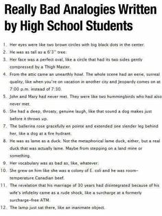 Priceless Analogies (click image to see all 56)